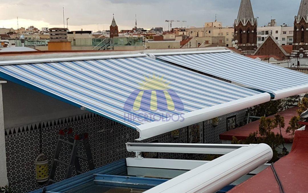 Oferta de toldos, Madrid