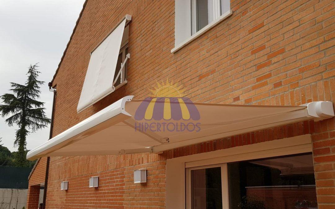 Instalación de cofre extensible, cofre portada – Obra Majadahonda, Madrid