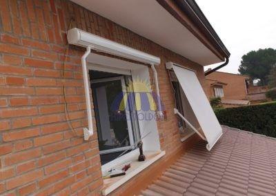 toldo cofre de ventana