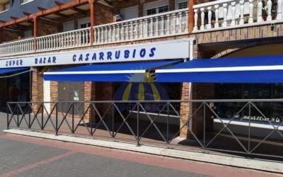 Instalación de toldo extensible – Casarubios – Hipertoldos 2019