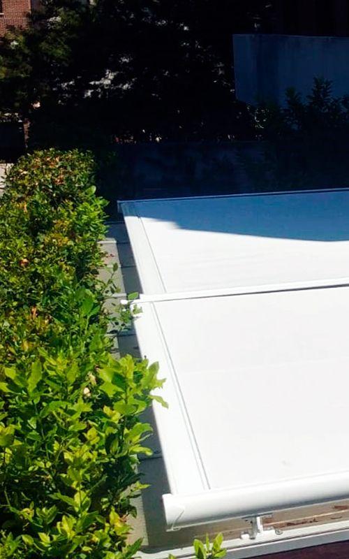 toldos veranda color blanco